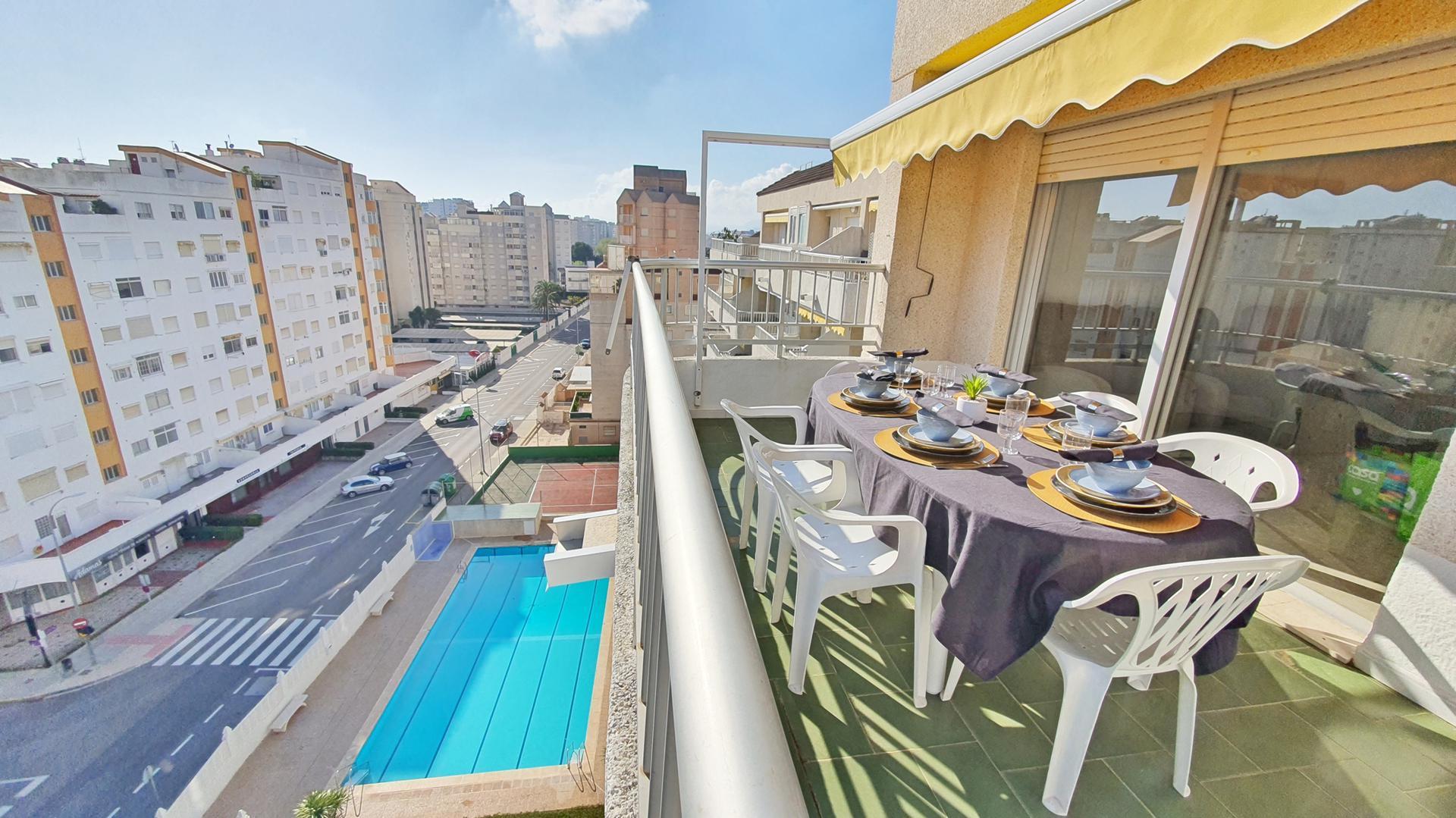 Appartement -                                       Gandia -                                       3 Schlafzimmer -                                       7 Personen